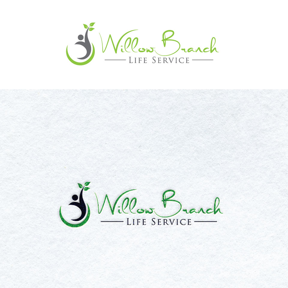 Logo Design by Private User - Entry No. 364 in the Logo Design Contest Artistic Logo Design for Willow Branch Life Service.