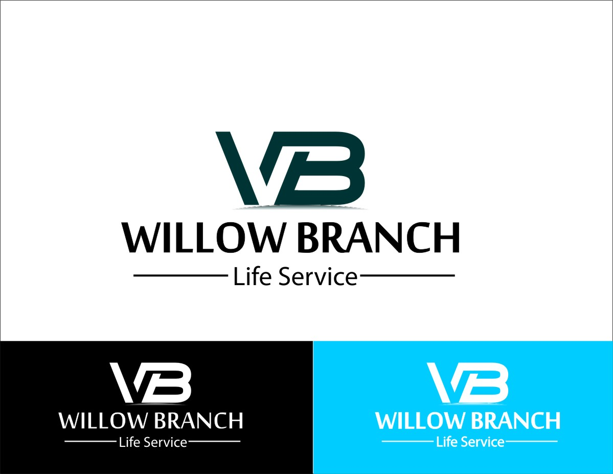 Logo Design by Ogie Enike - Entry No. 371 in the Logo Design Contest Artistic Logo Design for Willow Branch Life Service.