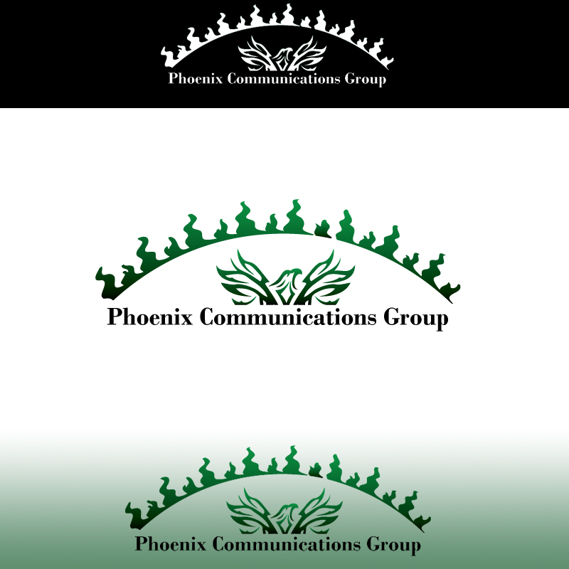 Logo Design by sragets - Entry No. 21 in the Logo Design Contest Phoenix Communications Group.