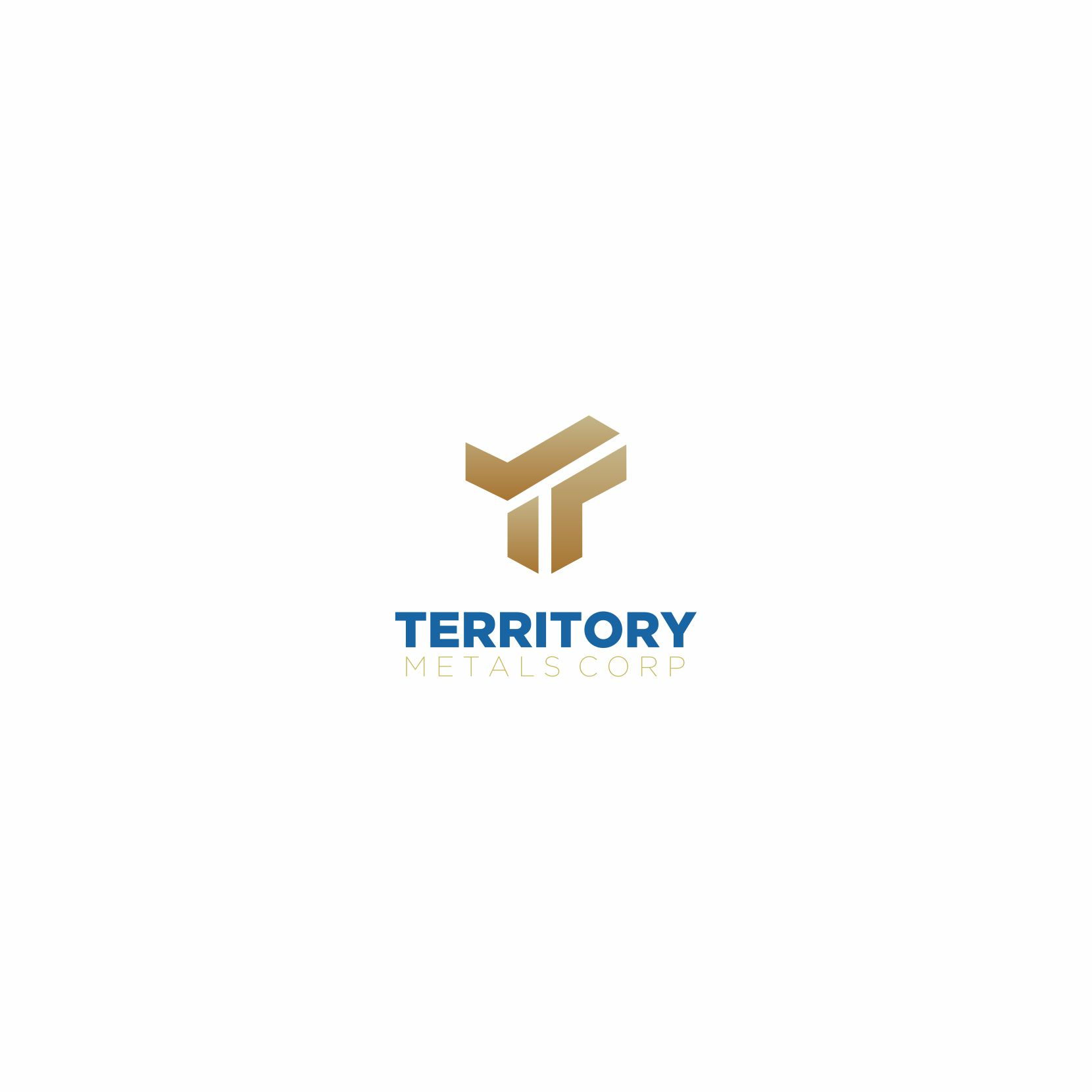 Logo Design by Balya ibnu Bi malkan - Entry No. 231 in the Logo Design Contest Unique Logo Design Wanted for Territory Metals Corp..