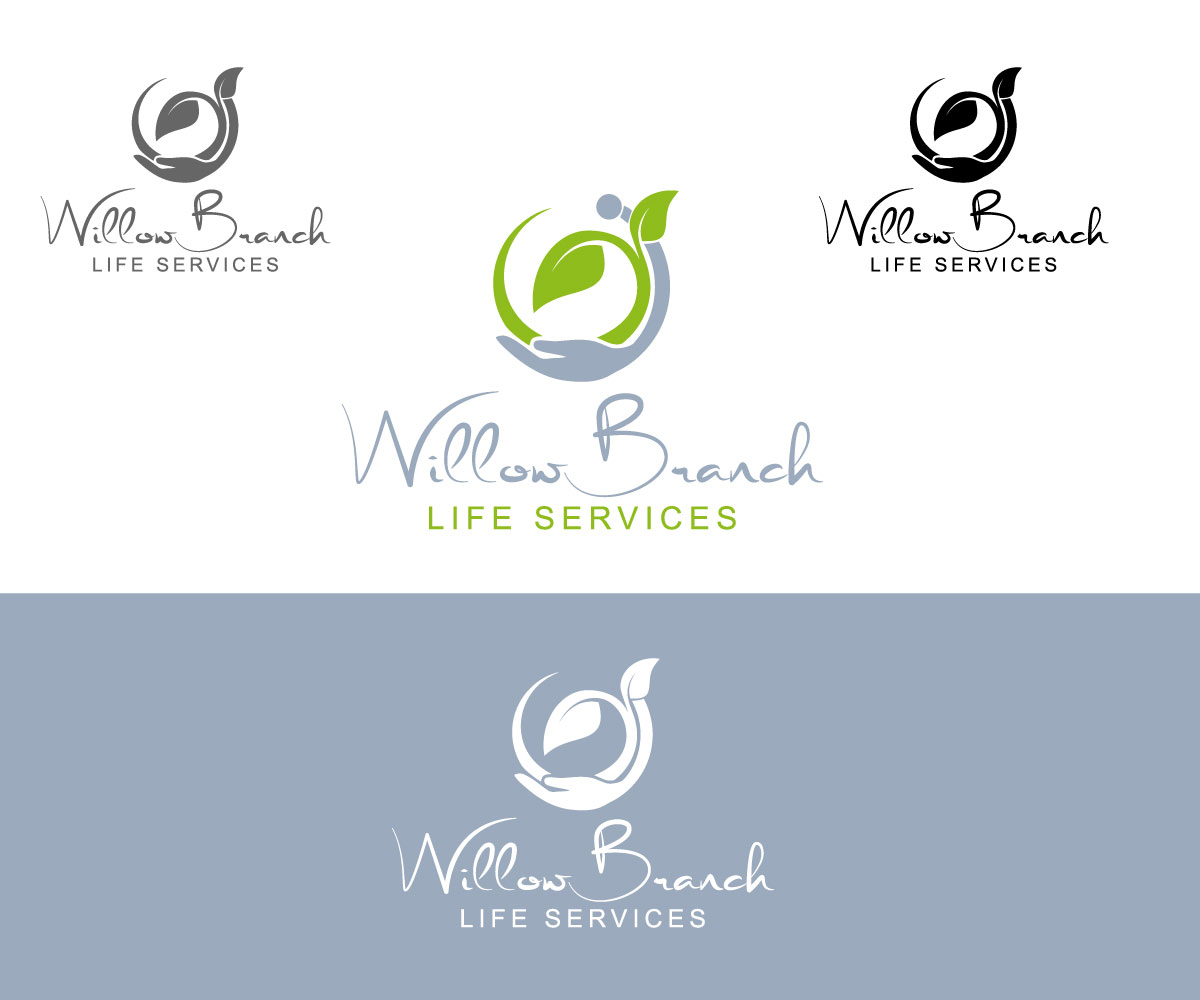 Logo Design by One Touch - Entry No. 378 in the Logo Design Contest Artistic Logo Design for Willow Branch Life Service.