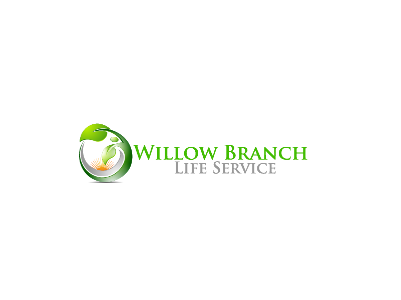 Logo Design by Private User - Entry No. 381 in the Logo Design Contest Artistic Logo Design for Willow Branch Life Service.
