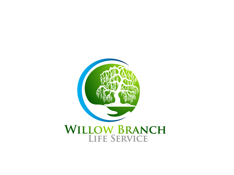 Logo Design by Private User - Entry No. 382 in the Logo Design Contest Artistic Logo Design for Willow Branch Life Service.
