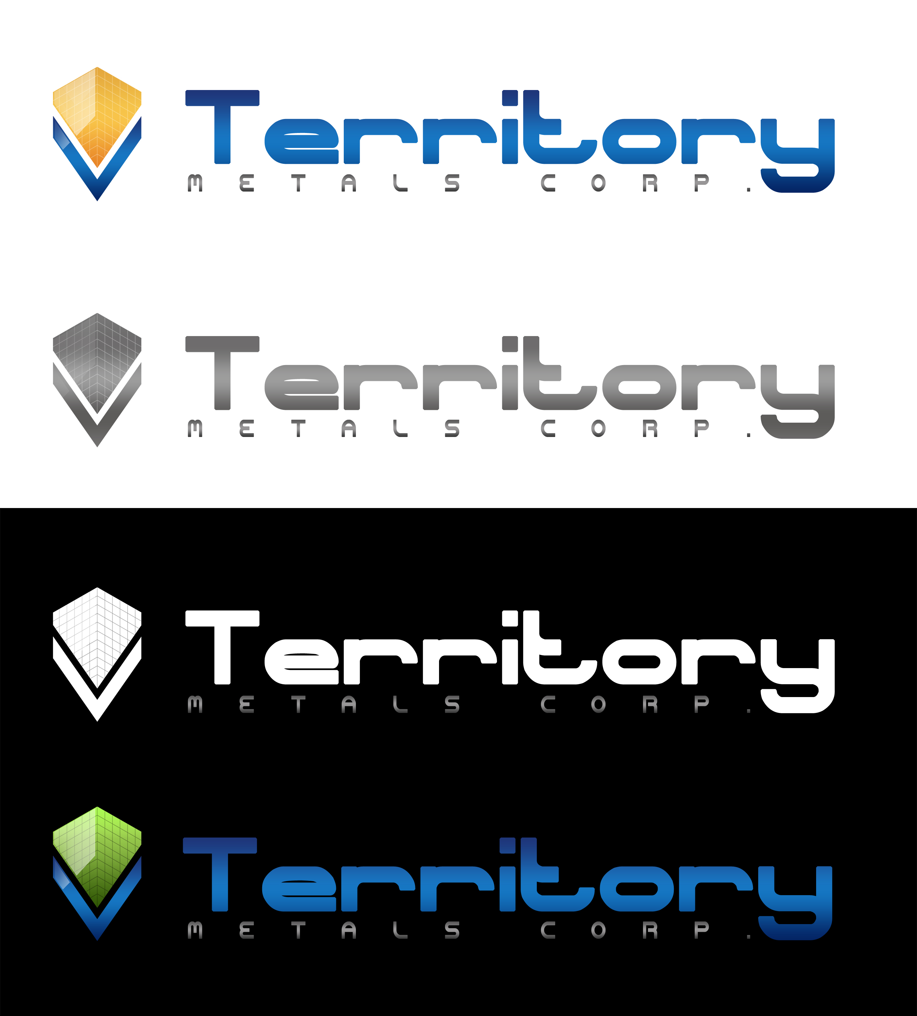 Logo Design by JSDESIGNGROUP - Entry No. 238 in the Logo Design Contest Unique Logo Design Wanted for Territory Metals Corp..