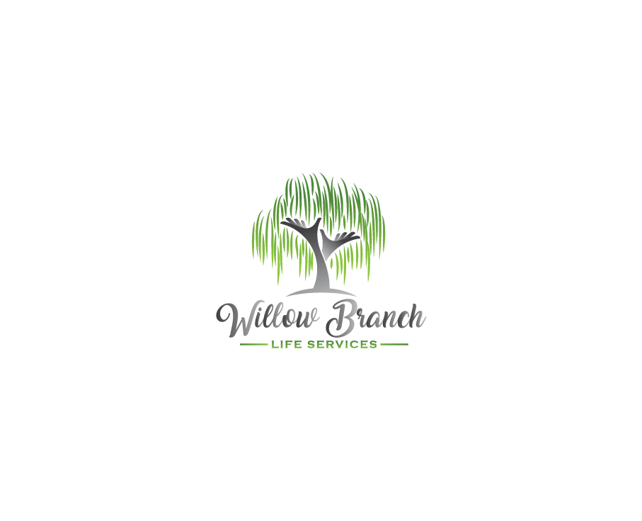 Logo Design by Tauhid Shaikh - Entry No. 383 in the Logo Design Contest Artistic Logo Design for Willow Branch Life Service.