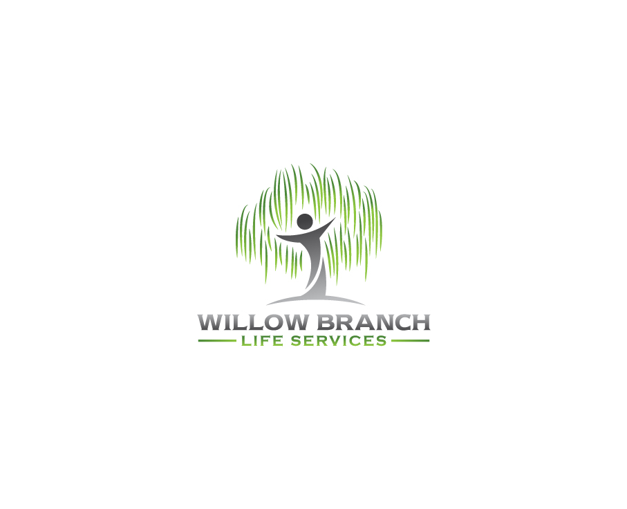 Logo Design by Tauhid Shaikh - Entry No. 384 in the Logo Design Contest Artistic Logo Design for Willow Branch Life Service.