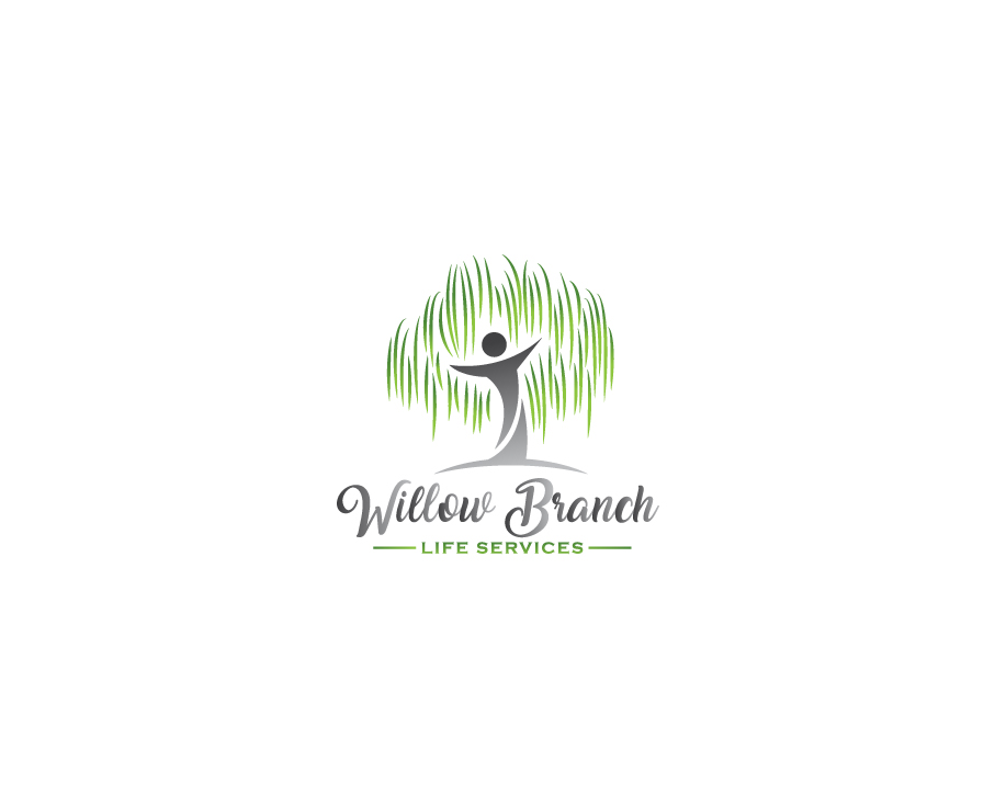 Logo Design by Tauhid Shaikh - Entry No. 385 in the Logo Design Contest Artistic Logo Design for Willow Branch Life Service.
