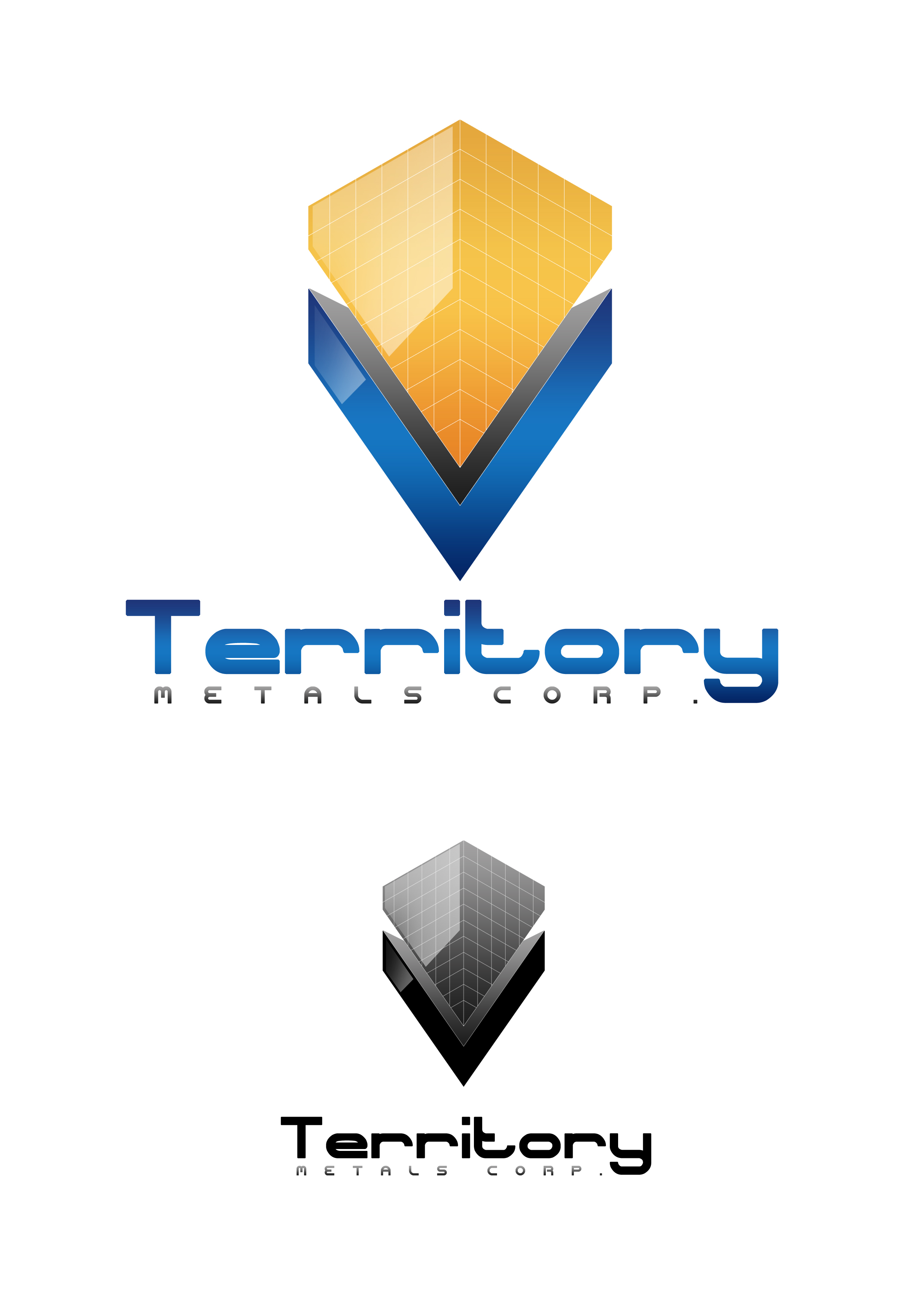Logo Design by JSDESIGNGROUP - Entry No. 243 in the Logo Design Contest Unique Logo Design Wanted for Territory Metals Corp..