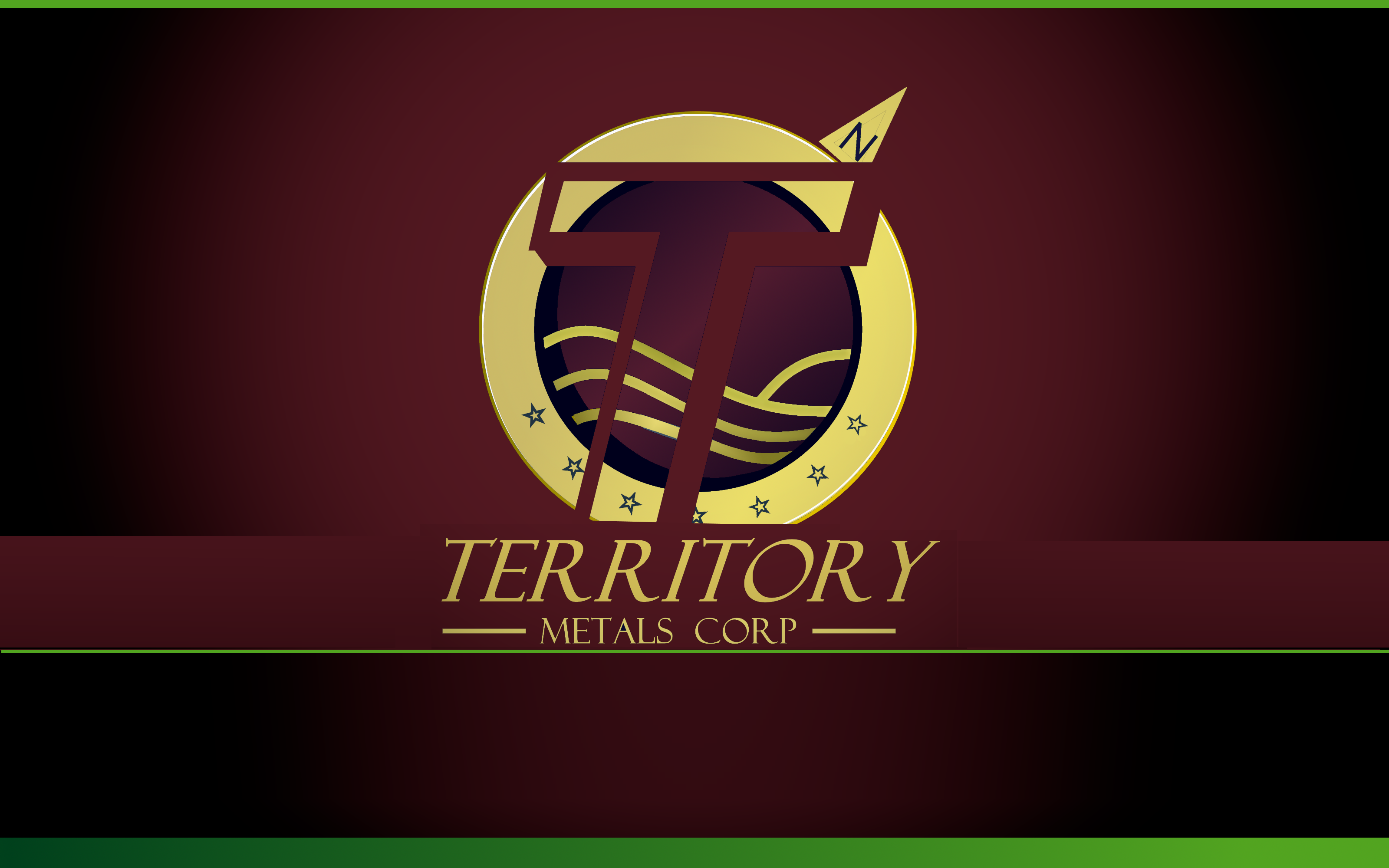 Logo Design by Roberto Bassi - Entry No. 248 in the Logo Design Contest Unique Logo Design Wanted for Territory Metals Corp..