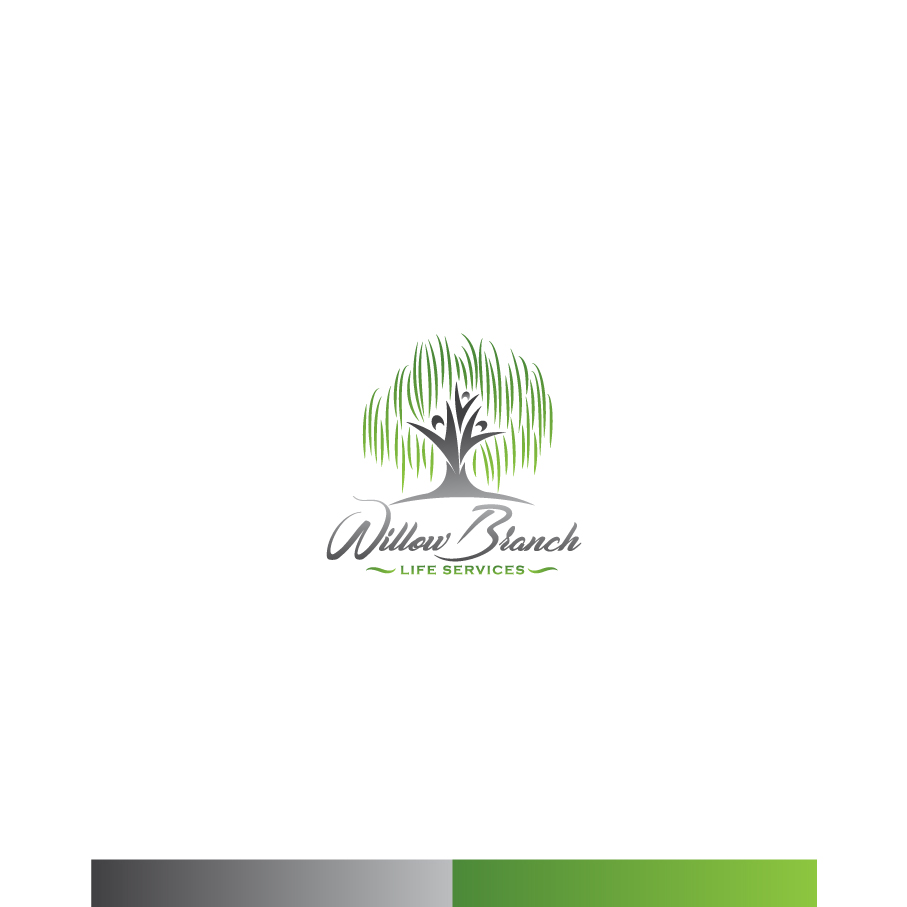 Logo Design by Tauhid Shaikh - Entry No. 386 in the Logo Design Contest Artistic Logo Design for Willow Branch Life Service.