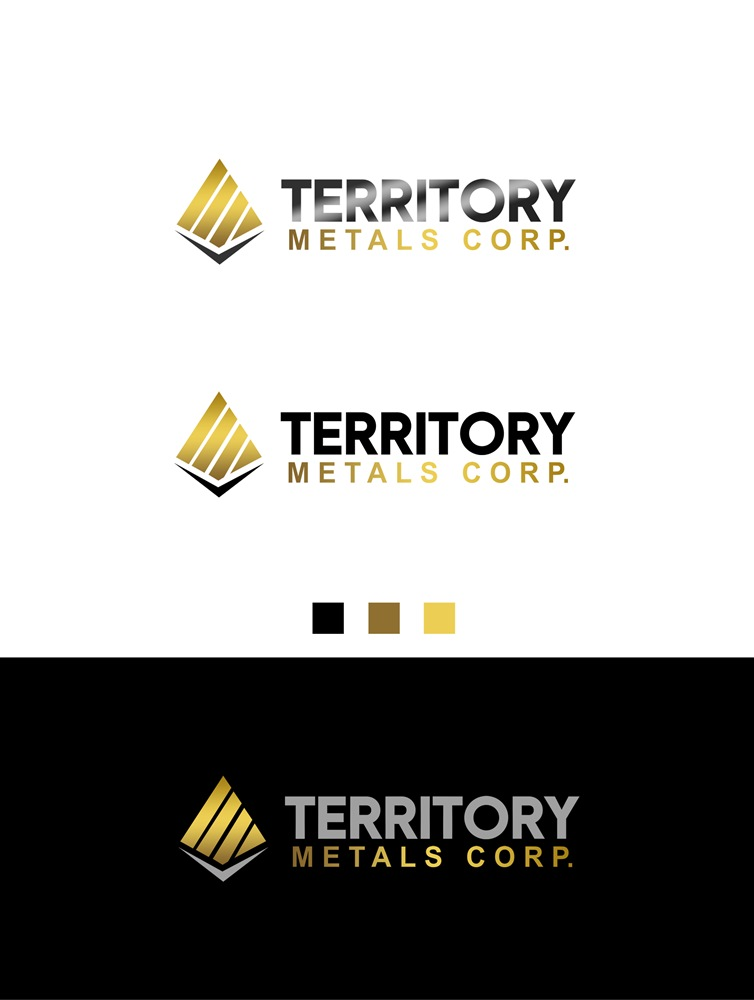 Logo Design by Banyumili - Entry No. 251 in the Logo Design Contest Unique Logo Design Wanted for Territory Metals Corp..