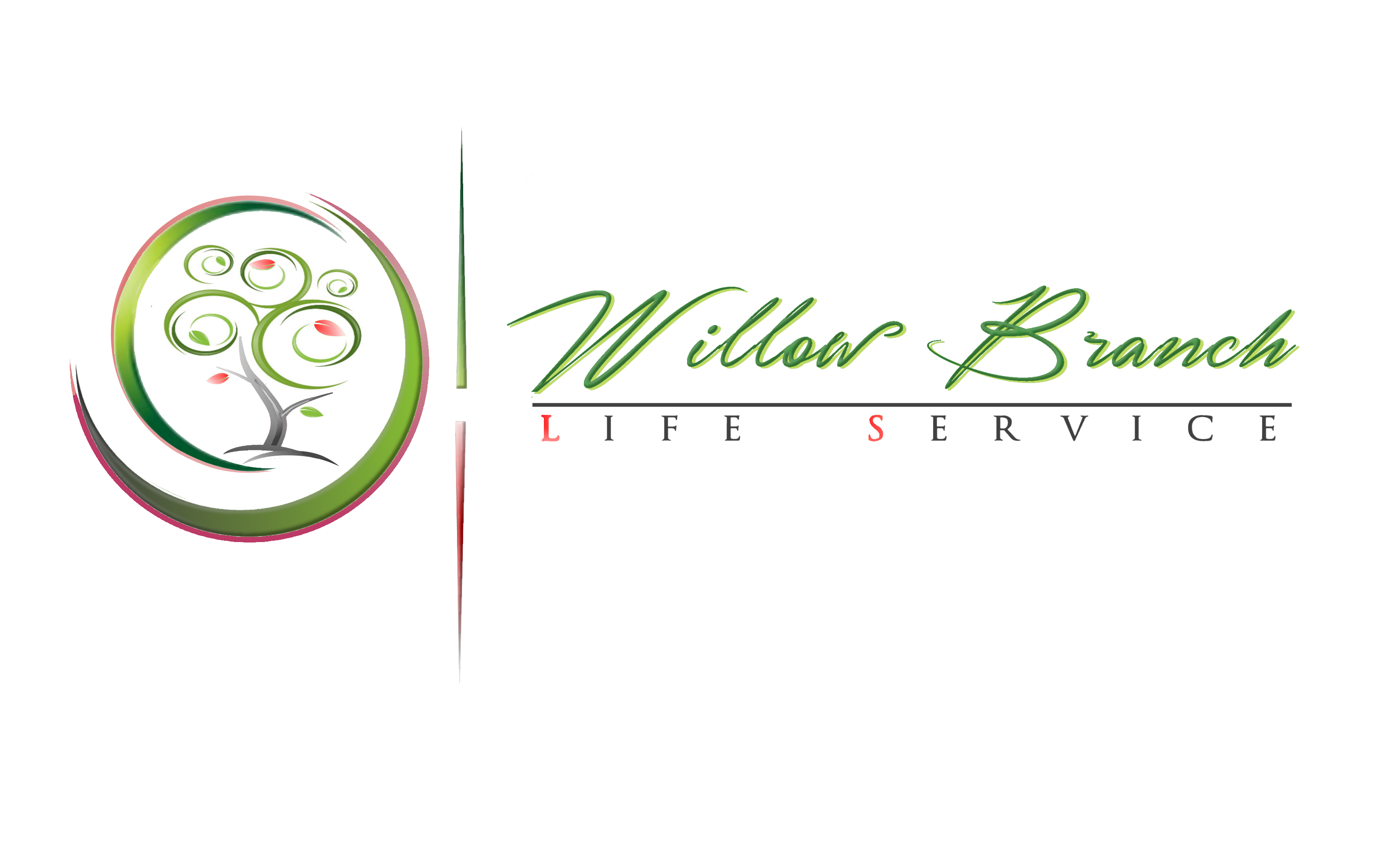 Logo Design by Roberto Bassi - Entry No. 387 in the Logo Design Contest Artistic Logo Design for Willow Branch Life Service.