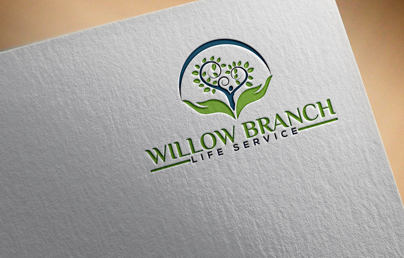 Logo Design by Black Design - Entry No. 388 in the Logo Design Contest Artistic Logo Design for Willow Branch Life Service.