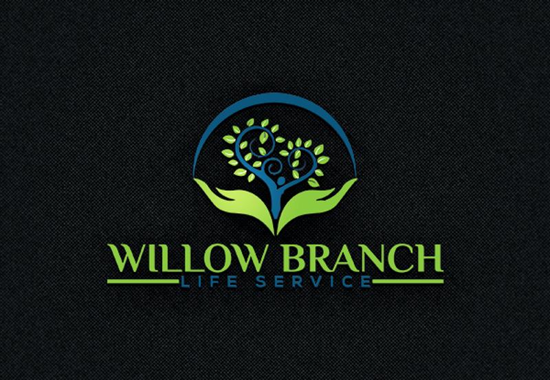 Logo Design by Black Design - Entry No. 389 in the Logo Design Contest Artistic Logo Design for Willow Branch Life Service.