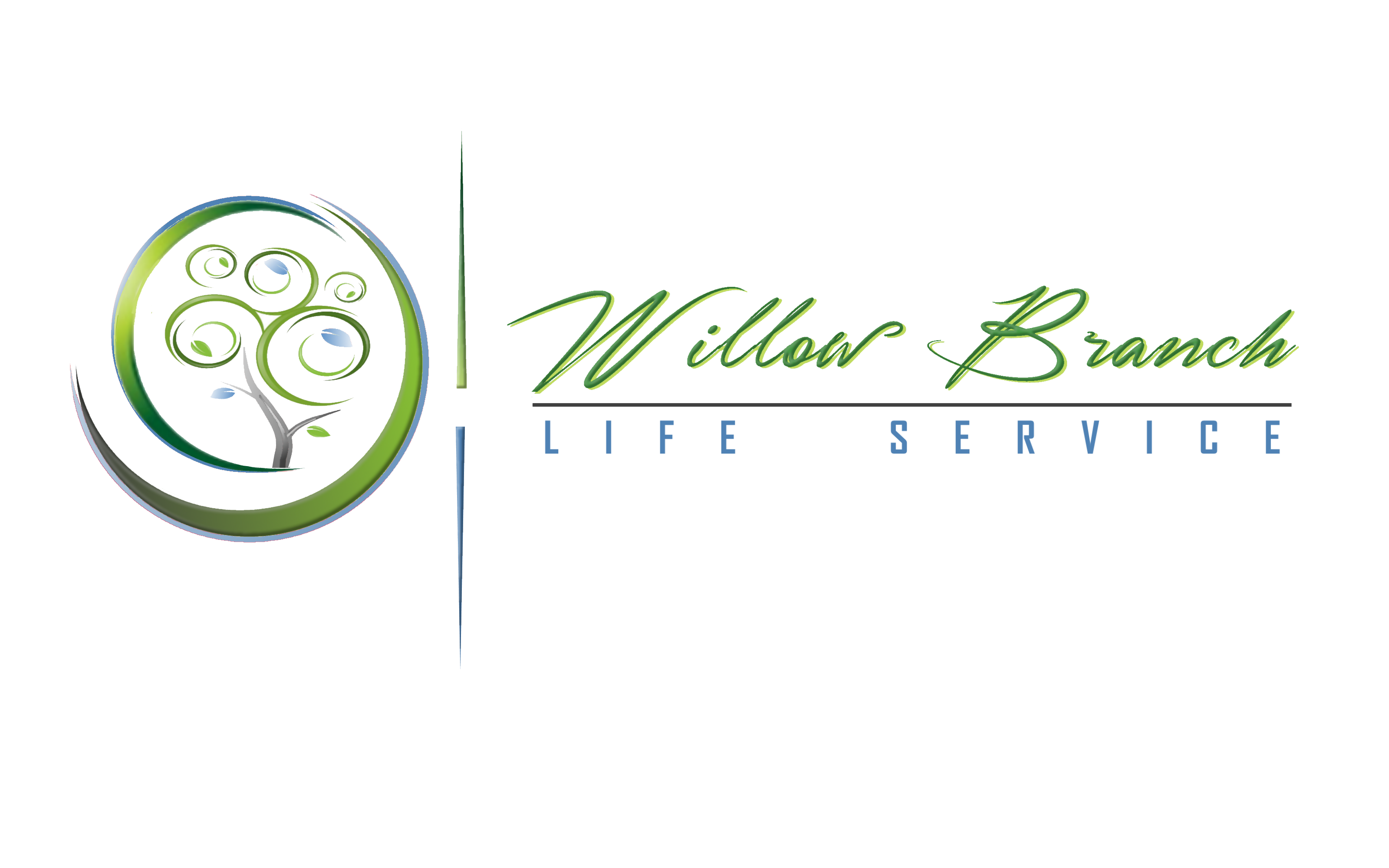 Logo Design by Roberto Bassi - Entry No. 390 in the Logo Design Contest Artistic Logo Design for Willow Branch Life Service.