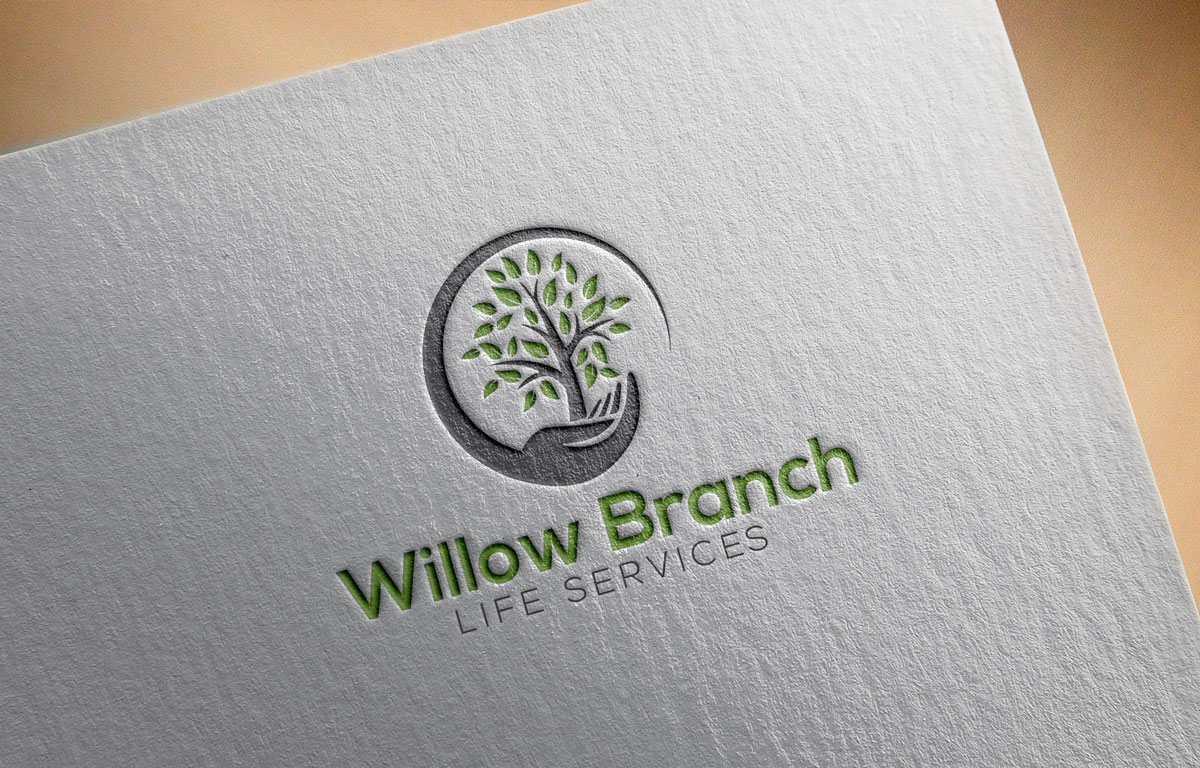 Logo Design by Private User - Entry No. 392 in the Logo Design Contest Artistic Logo Design for Willow Branch Life Service.