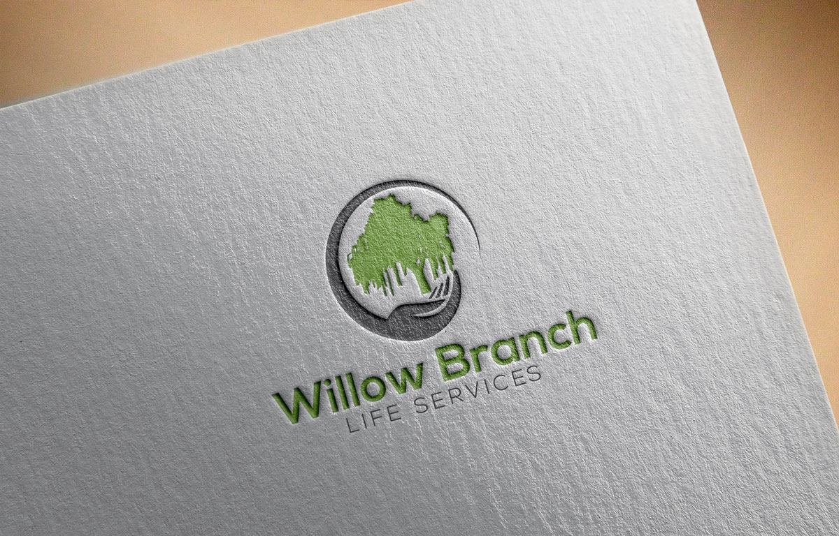 Logo Design by Private User - Entry No. 393 in the Logo Design Contest Artistic Logo Design for Willow Branch Life Service.