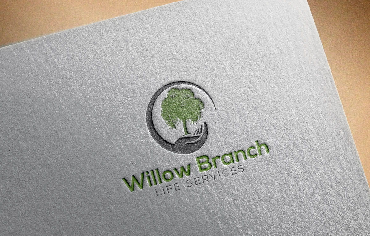 Logo Design by Private User - Entry No. 395 in the Logo Design Contest Artistic Logo Design for Willow Branch Life Service.