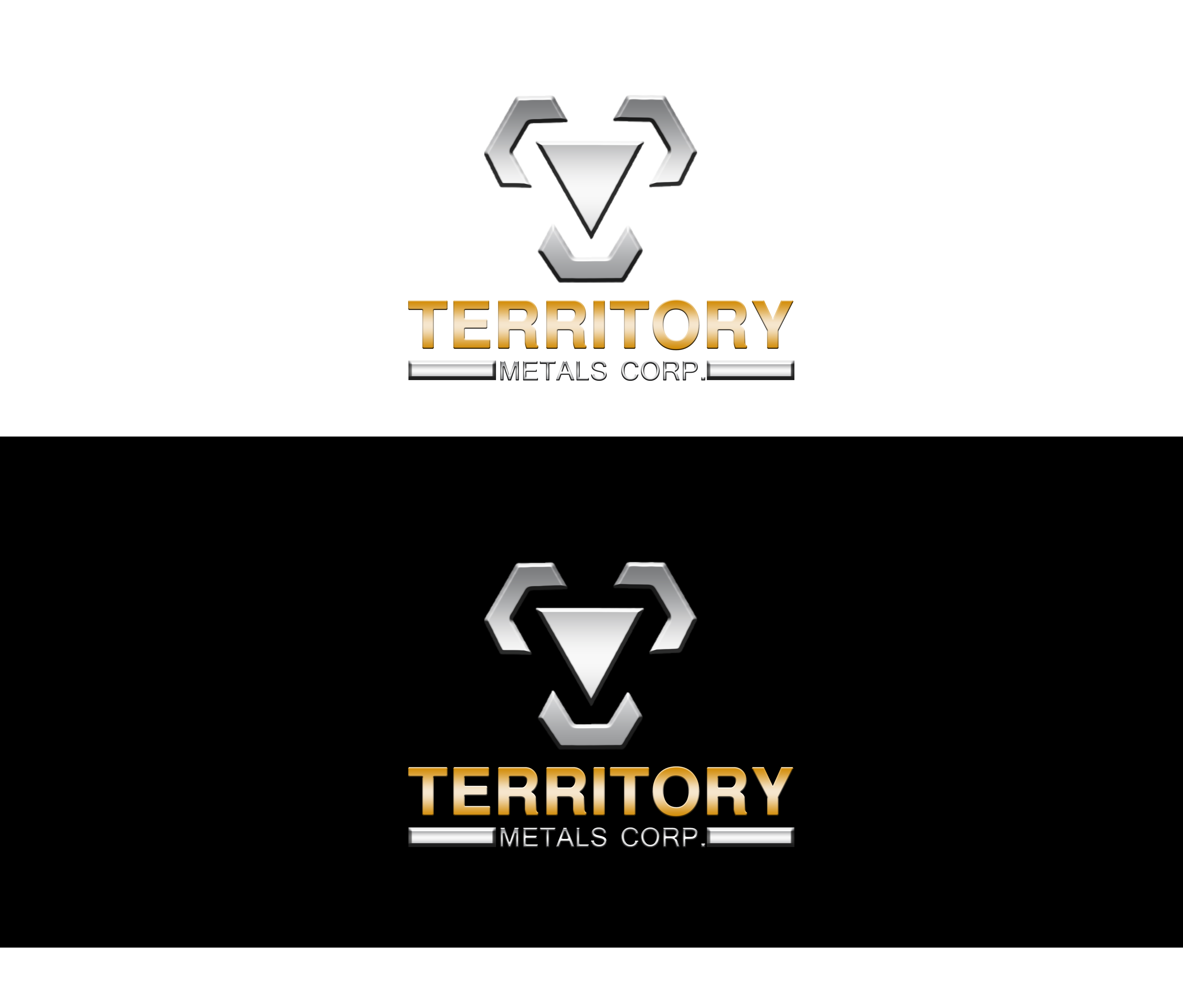 Logo Design by JSDESIGNGROUP - Entry No. 259 in the Logo Design Contest Unique Logo Design Wanted for Territory Metals Corp..
