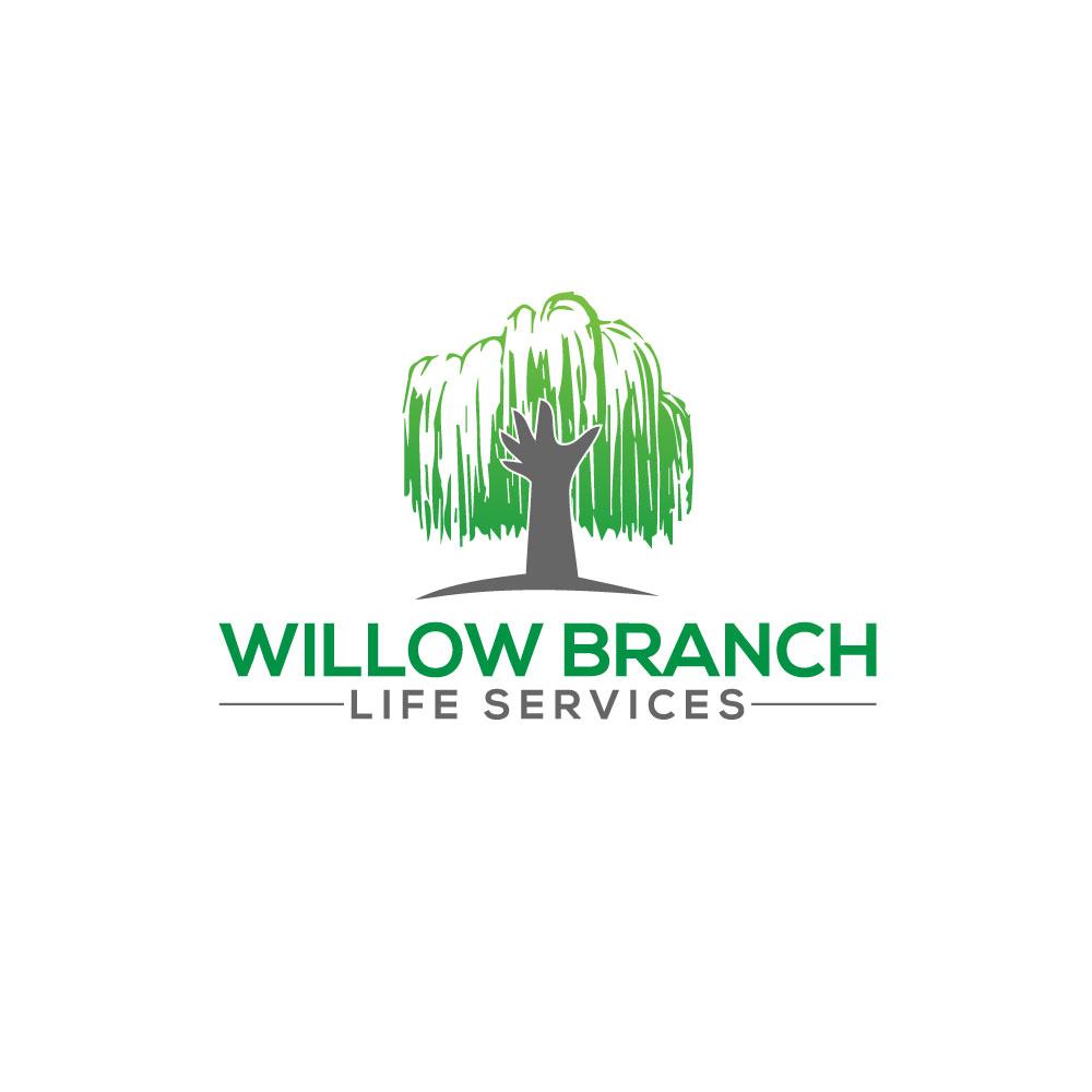 Logo Design by Easrat Jahan - Entry No. 396 in the Logo Design Contest Artistic Logo Design for Willow Branch Life Service.