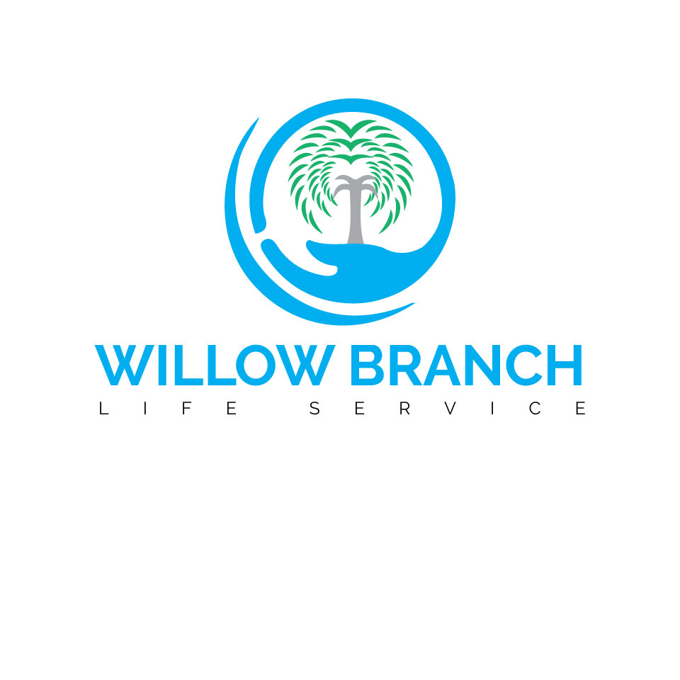Logo Design by MD ZAHIR RAIHAN - Entry No. 398 in the Logo Design Contest Artistic Logo Design for Willow Branch Life Service.
