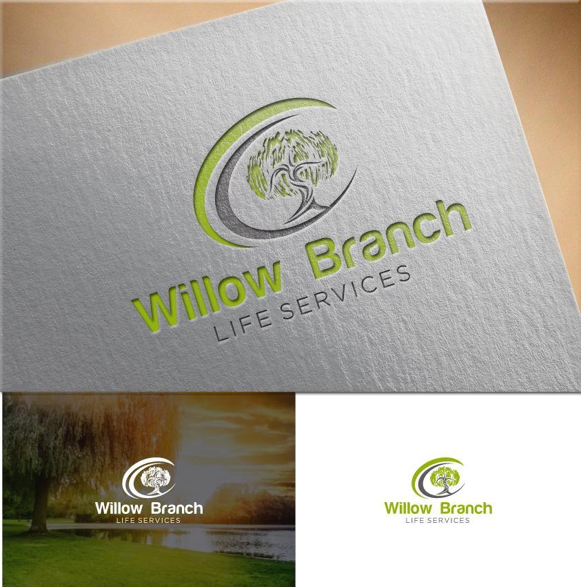Logo Design by RasYa Muhammad Athaya - Entry No. 400 in the Logo Design Contest Artistic Logo Design for Willow Branch Life Service.