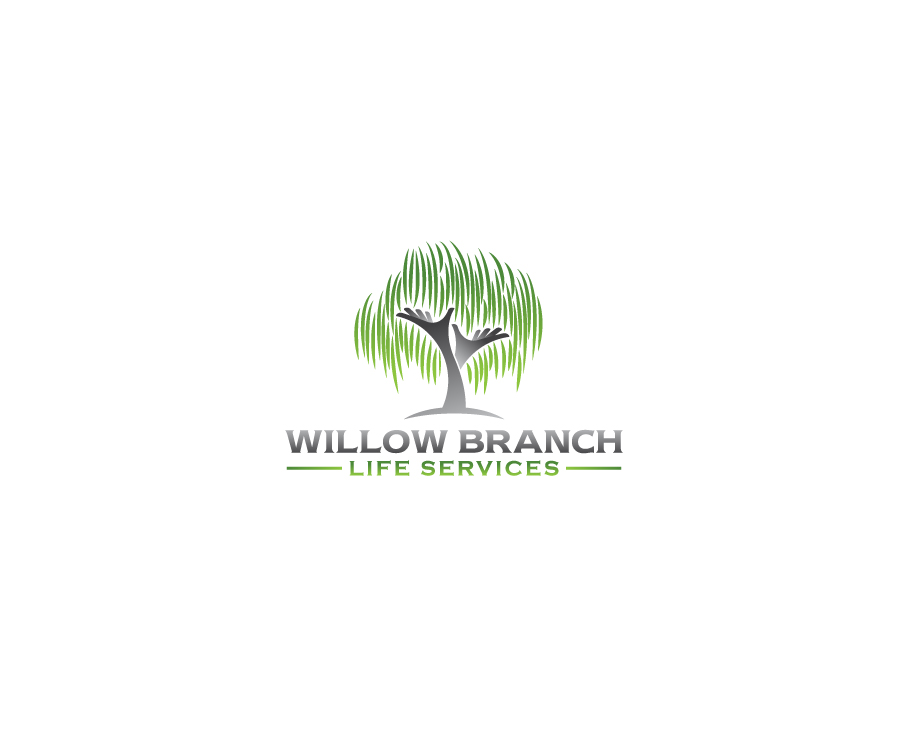 Logo Design by Tauhid Shaikh - Entry No. 402 in the Logo Design Contest Artistic Logo Design for Willow Branch Life Service.