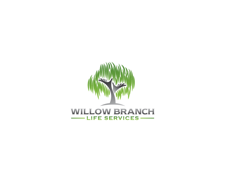 Logo Design by Tauhid Shaikh - Entry No. 403 in the Logo Design Contest Artistic Logo Design for Willow Branch Life Service.