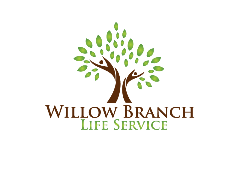Logo Design by brands_in - Entry No. 404 in the Logo Design Contest Artistic Logo Design for Willow Branch Life Service.