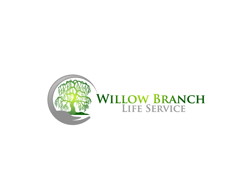 Logo Design by Private User - Entry No. 406 in the Logo Design Contest Artistic Logo Design for Willow Branch Life Service.