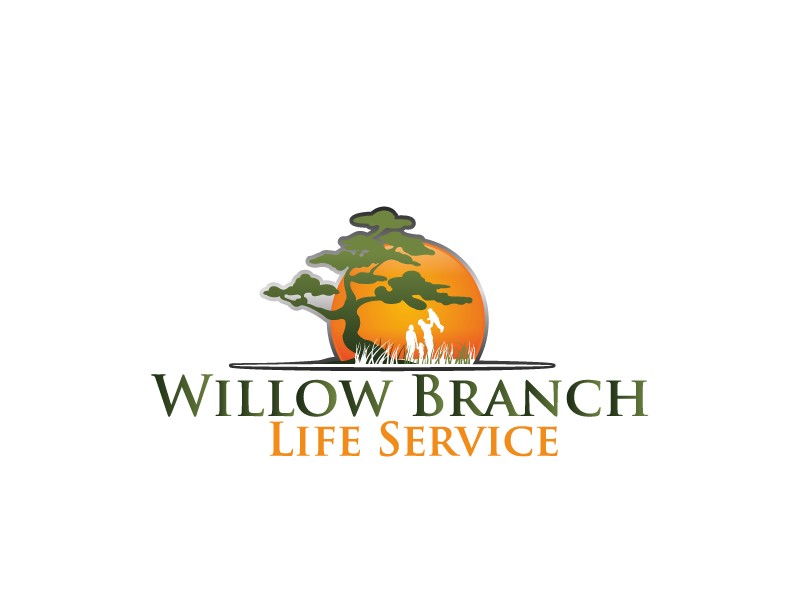 Logo Design by brands_in - Entry No. 407 in the Logo Design Contest Artistic Logo Design for Willow Branch Life Service.