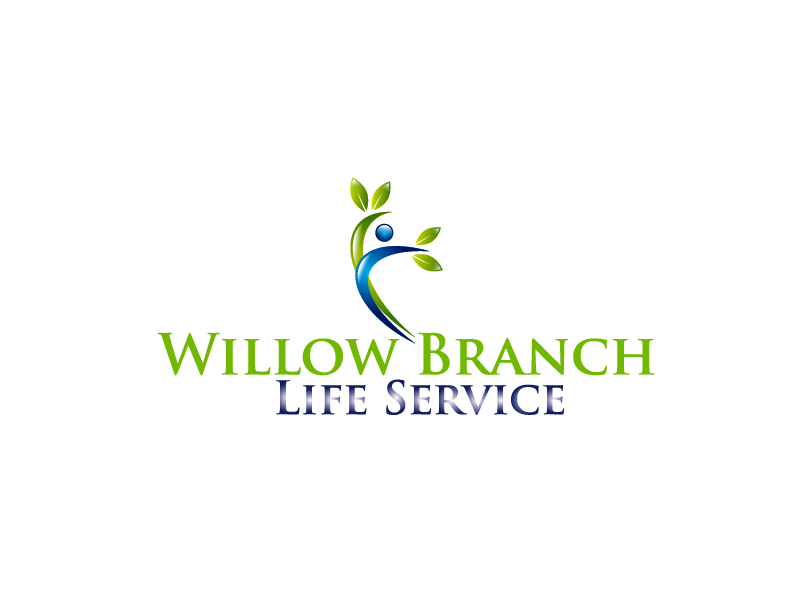 Logo Design by Private User - Entry No. 408 in the Logo Design Contest Artistic Logo Design for Willow Branch Life Service.