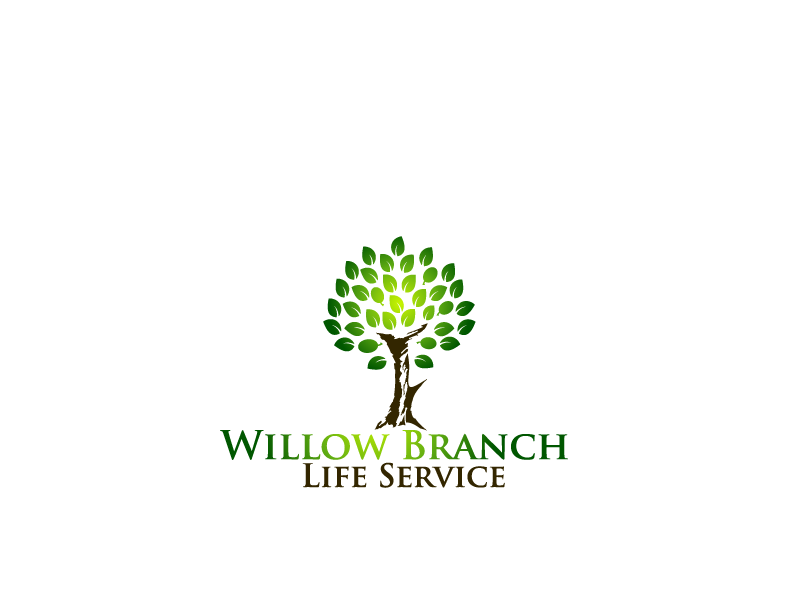 Logo Design by Private User - Entry No. 409 in the Logo Design Contest Artistic Logo Design for Willow Branch Life Service.