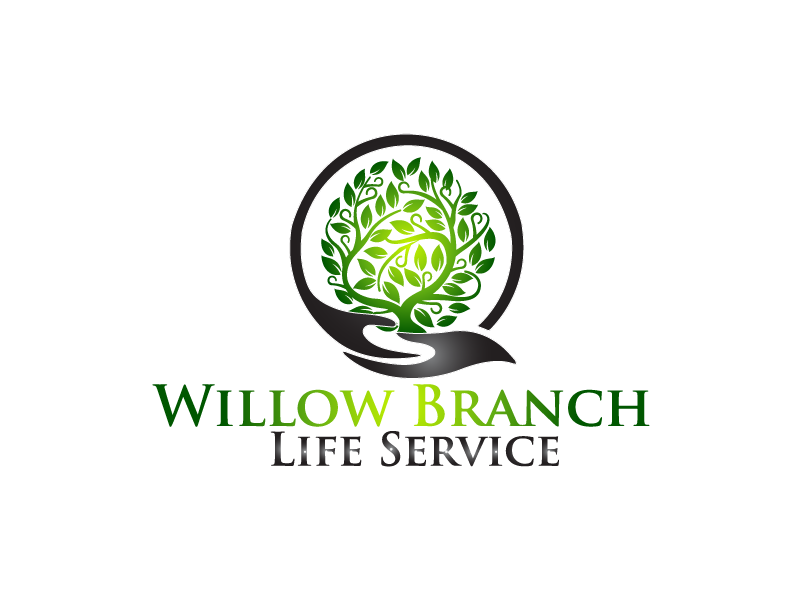 Logo Design by Private User - Entry No. 410 in the Logo Design Contest Artistic Logo Design for Willow Branch Life Service.