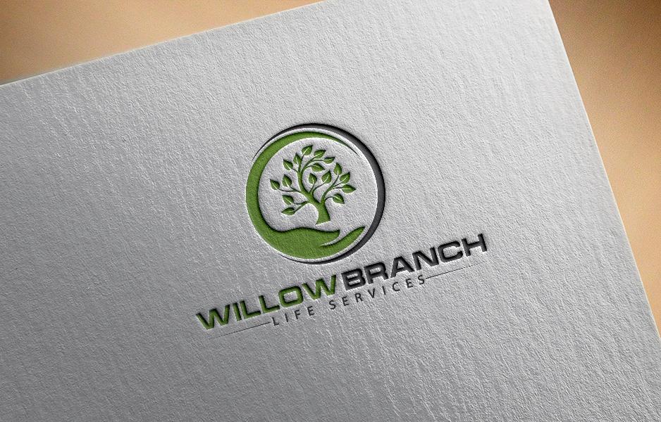 Logo Design by Tuhin Mazumder - Entry No. 411 in the Logo Design Contest Artistic Logo Design for Willow Branch Life Service.
