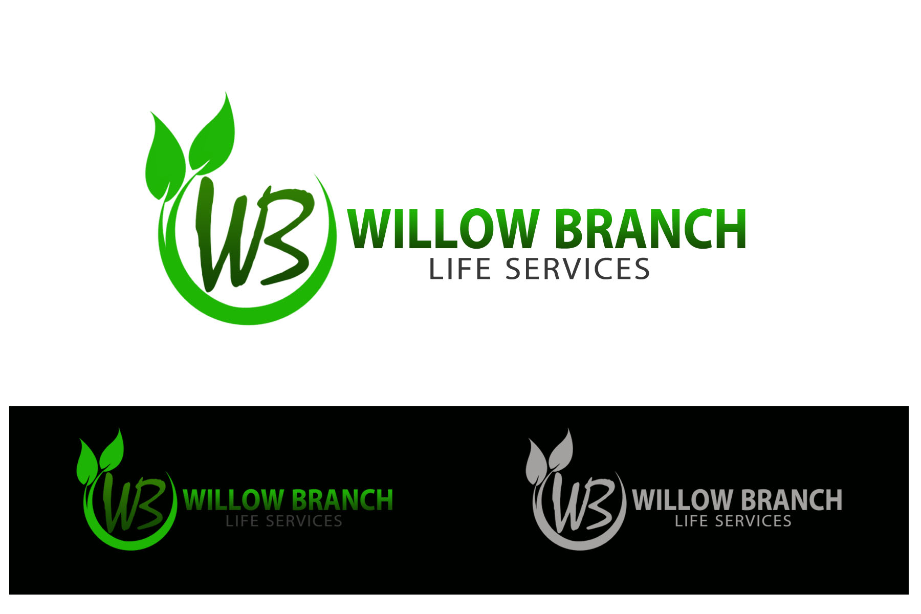 Logo Design by Golden_Hand - Entry No. 418 in the Logo Design Contest Artistic Logo Design for Willow Branch Life Service.