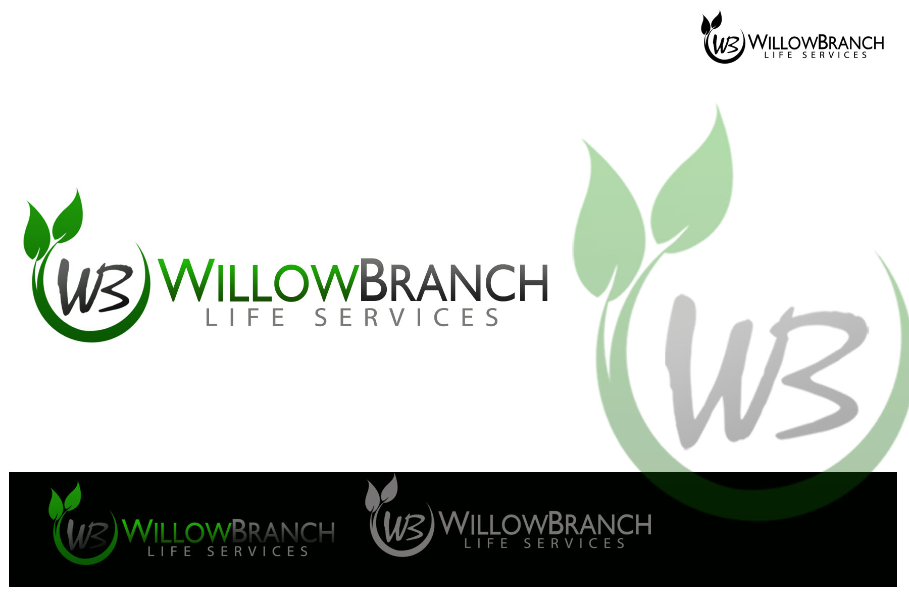 Logo Design by Golden_Hand - Entry No. 419 in the Logo Design Contest Artistic Logo Design for Willow Branch Life Service.