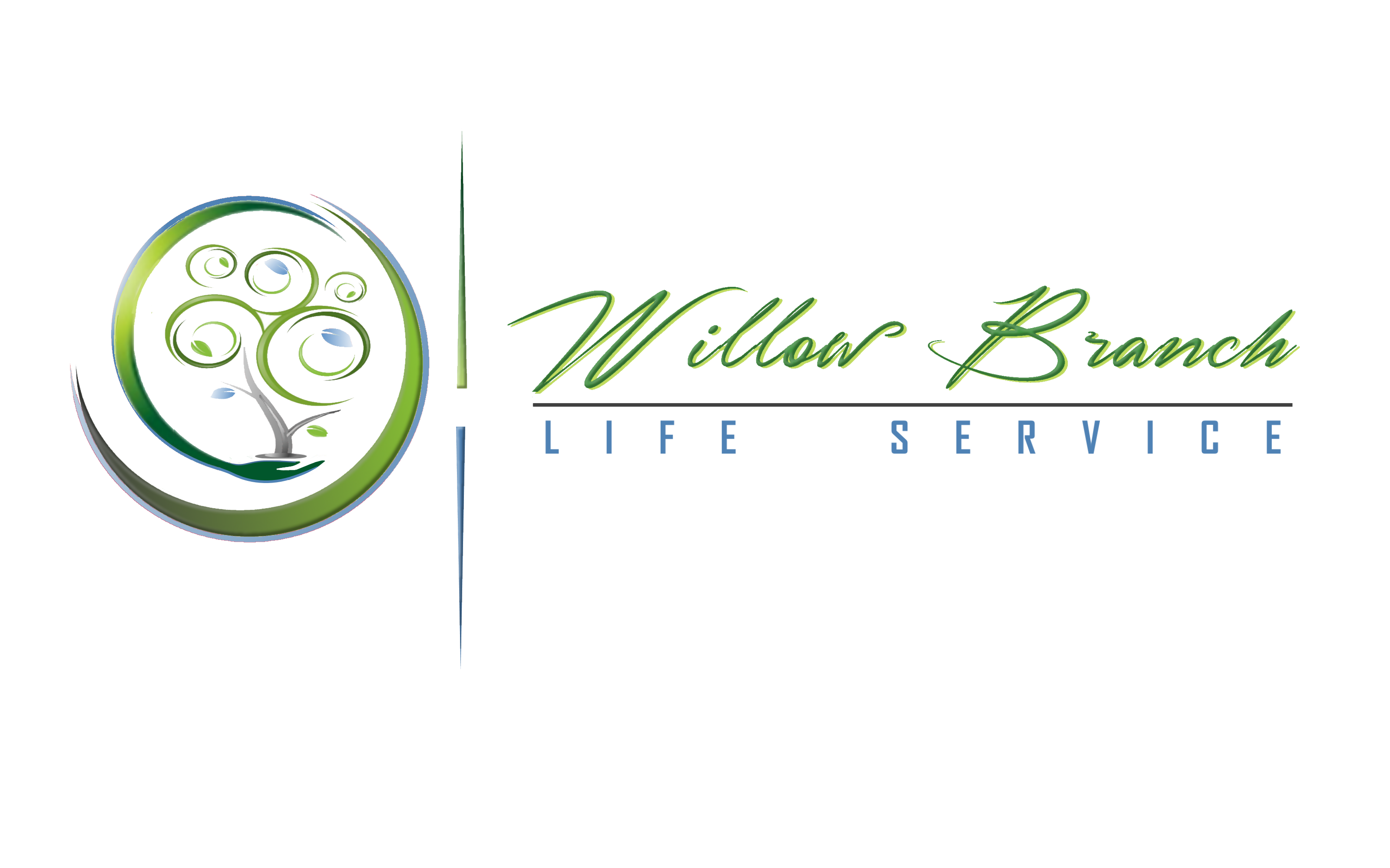 Logo Design by Roberto Bassi - Entry No. 420 in the Logo Design Contest Artistic Logo Design for Willow Branch Life Service.