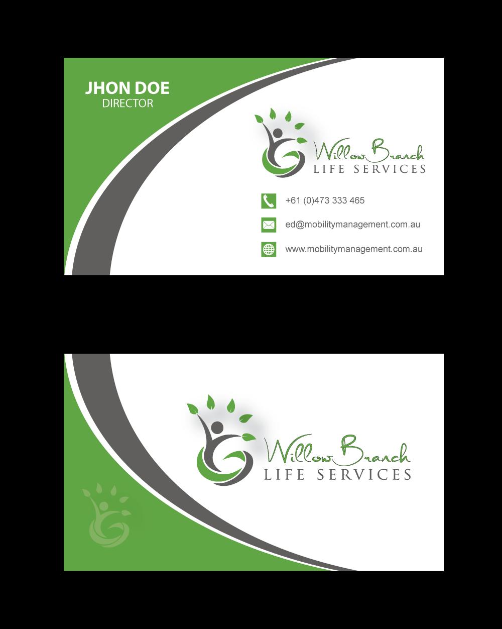 Logo Design by Highexpert Design - Entry No. 428 in the Logo Design Contest Artistic Logo Design for Willow Branch Life Service.