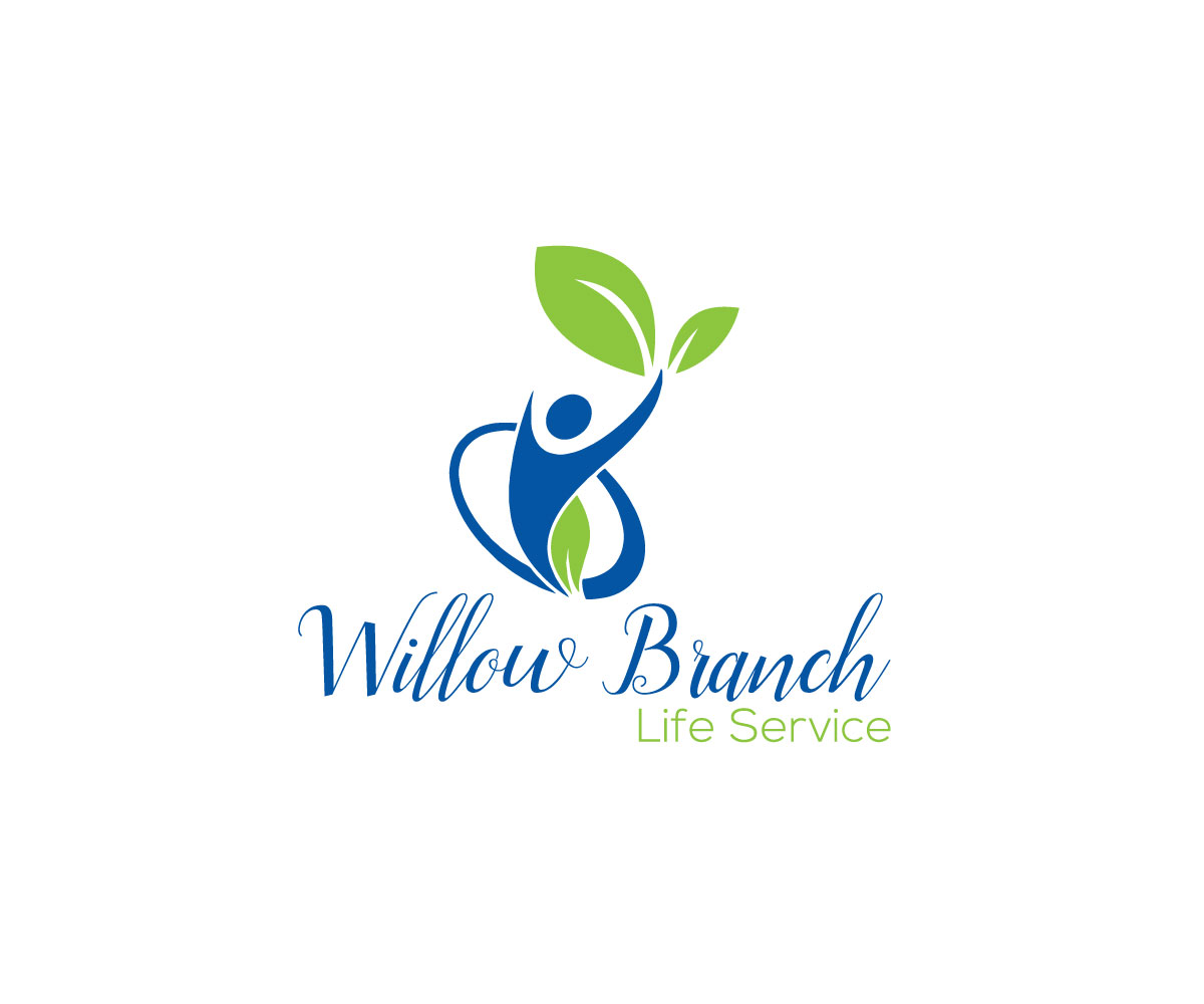 Logo Design by Mamun Hossain - Entry No. 430 in the Logo Design Contest Artistic Logo Design for Willow Branch Life Service.