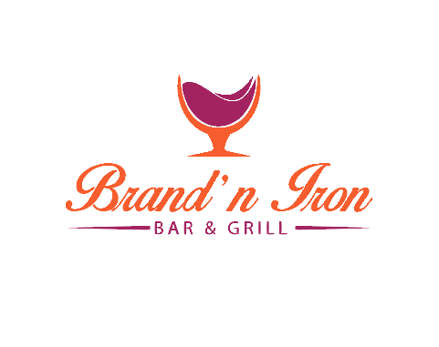 Logo Design by Melton Design - Entry No. 20 in the Logo Design Contest Captivating Logo Design for Brand'n Iron Bar & Grill.