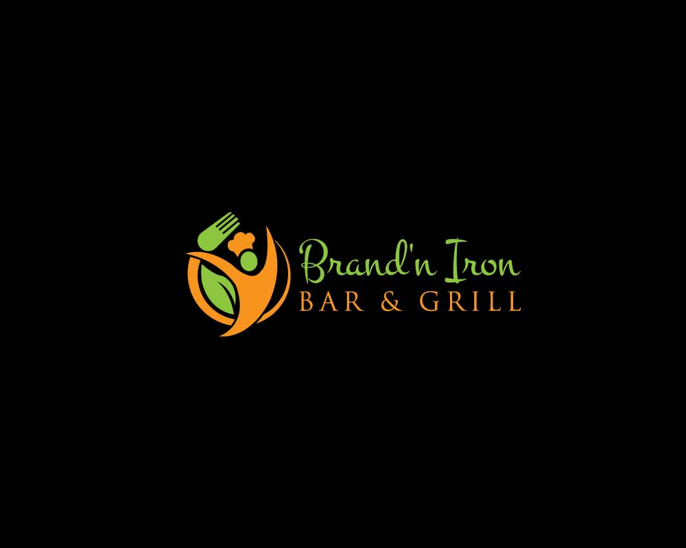 Logo Design by Nur Designer - Entry No. 33 in the Logo Design Contest Captivating Logo Design for Brand'n Iron Bar & Grill.