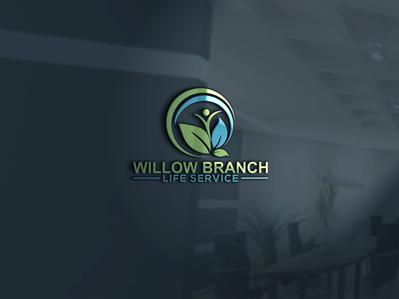 Logo Design by Mdkausar Hossain - Entry No. 431 in the Logo Design Contest Artistic Logo Design for Willow Branch Life Service.
