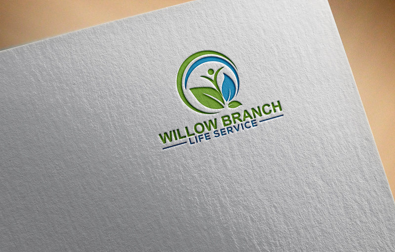 Logo Design by Mdkausar Hossain - Entry No. 432 in the Logo Design Contest Artistic Logo Design for Willow Branch Life Service.
