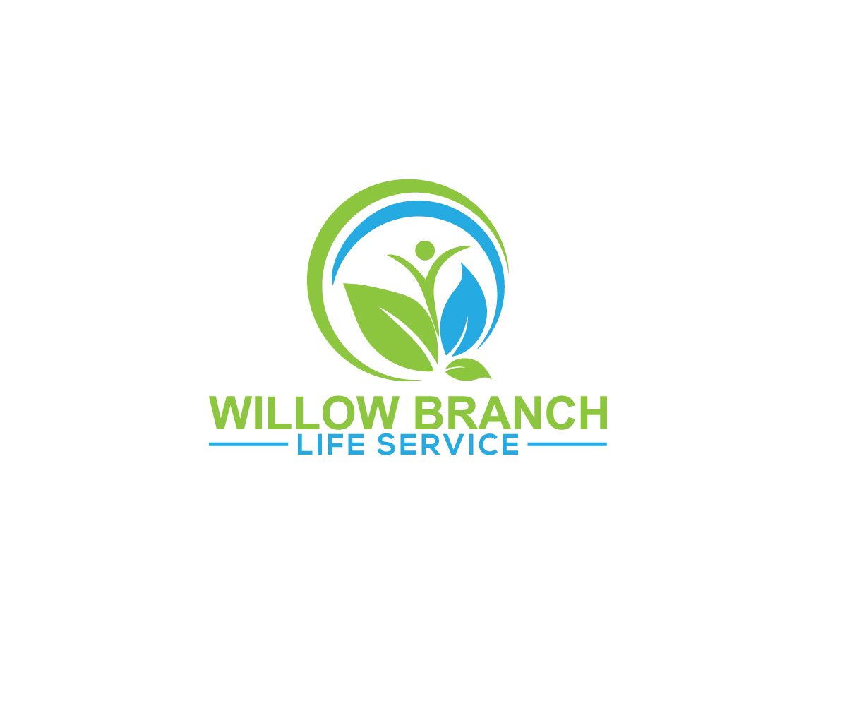 Logo Design by Mdkausar Hossain - Entry No. 433 in the Logo Design Contest Artistic Logo Design for Willow Branch Life Service.