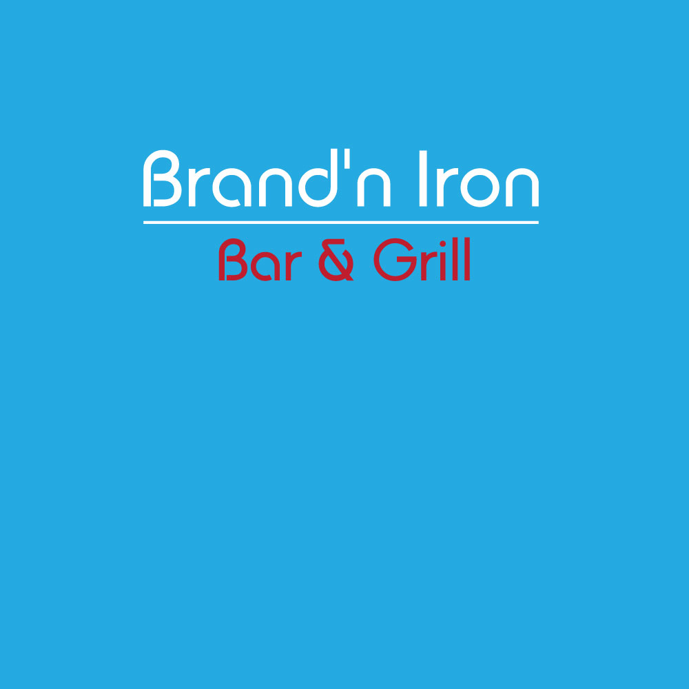 Logo Design by Ismail Hossain - Entry No. 44 in the Logo Design Contest Captivating Logo Design for Brand'n Iron Bar & Grill.