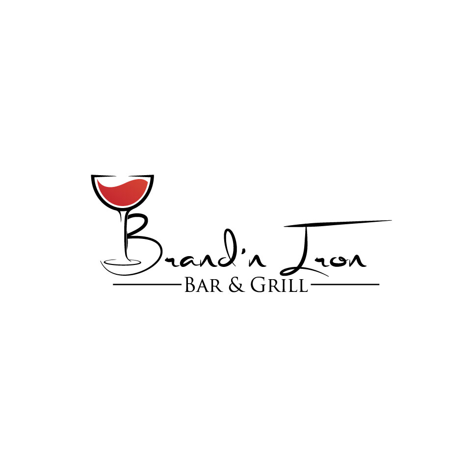 Logo Design by Private User - Entry No. 52 in the Logo Design Contest Captivating Logo Design for Brand'n Iron Bar & Grill.