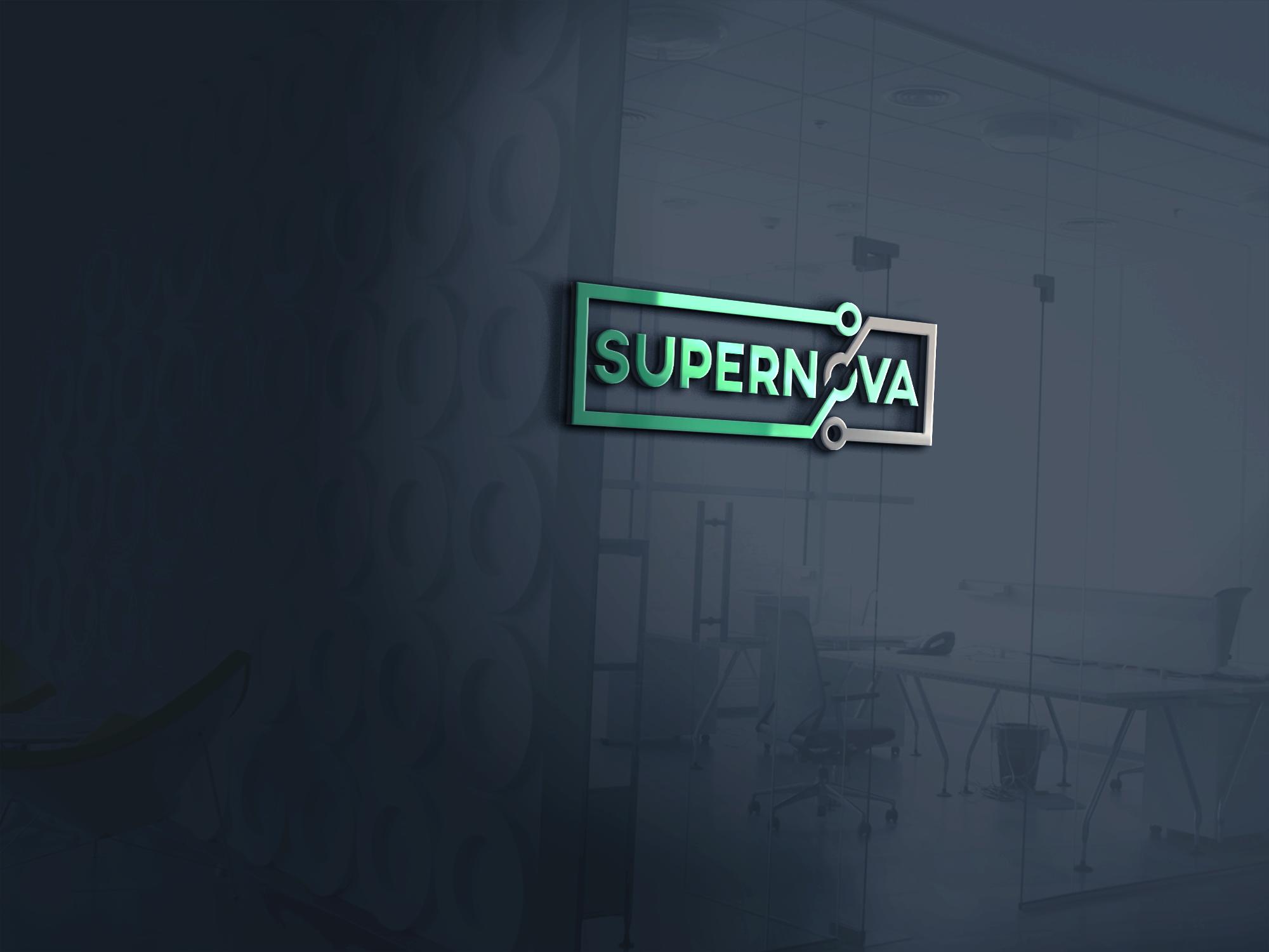 Logo Design by Ayrin Akter - Entry No. 201 in the Logo Design Contest Creative Logo Design for Supernova.