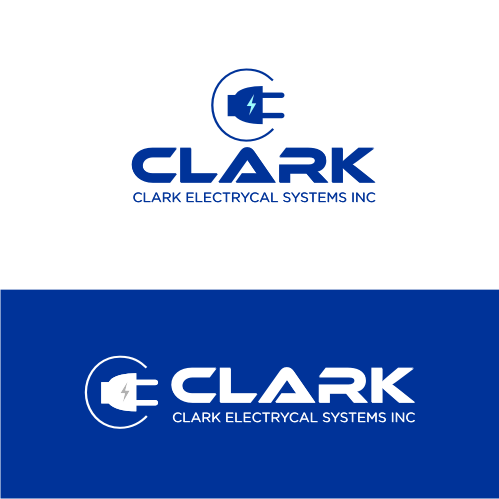 Logo Design by Bima Bima - Entry No. 4 in the Logo Design Contest Artistic Logo Design for Clark Electrical Systems Inc..