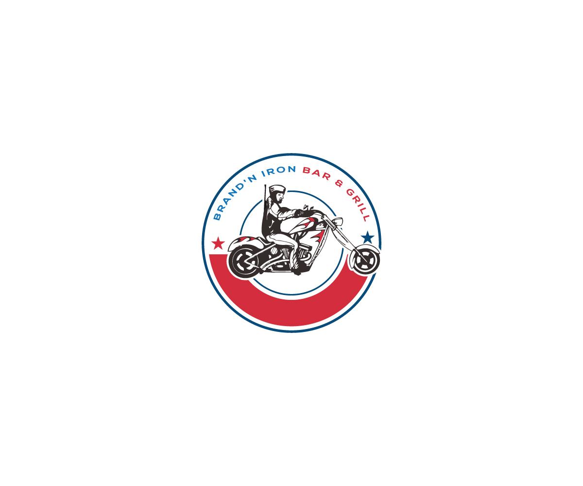 Logo Design by Mosharaf Karim - Entry No. 58 in the Logo Design Contest Captivating Logo Design for Brand'n Iron Bar & Grill.